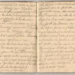 1 Num 1033 - Journal de guerre de Louis Bastet, item 16