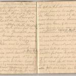 1 Num 1033 - Journal de guerre de Louis Bastet, item 17