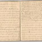 1 Num 1033 - Journal de guerre de Louis Bastet, item 18