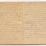 1 Num 1033 - Journal de guerre de Louis Bastet, item 26