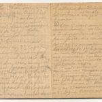 1 Num 1033 - Journal de guerre de Louis Bastet, item 30