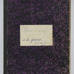1 Num 934 - Chants d'amour et de guerre de Magdeleine Fuzand.