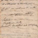 Lettere del capitano Vittorio Bellipanni alla famiglia, item 18