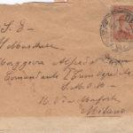 Lettere del sottotenente Giovanni Dusmet al fratello Alfredo Dusmet, item 3