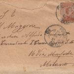 Lettere del sottotenente Giovanni Dusmet al fratello Alfredo Dusmet, item 12