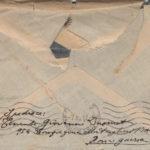 Lettere del sottotenente Giovanni Dusmet al fratello Alfredo Dusmet, item 36