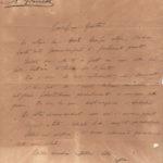 Lettere del tenente Domenico Giordani ai genitori