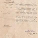 Lettere di condoglianze a Pasquale Calienno per la morte del figlio, il sottotenente Mario Calienno, item 7