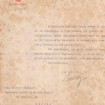 Lettere di condoglianze a Pasquale Calienno per la morte del figlio, il sottotenente Mario Calienno, item 22