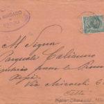 Lettere di condoglianze a Pasquale Calienno per la morte del figlio, il sottotenente Mario Calienno, item 23