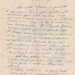 Lettere di condoglianze alla famiglia del sottotenente Carlo Spasiano