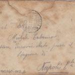 Lettere di condoglianze a Michele Talamo padre del sottotenente Ugo Talamo, item 4