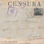 Lettere di condoglianze a Michele Talamo padre del sottotenente Ugo Talamo, item 9