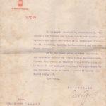 Lettere di condoglianze a Michele Talamo padre del sottotenente Ugo Talamo, item 11
