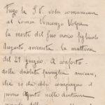 Lettere circa la morte dell'aspirante ufficiale Augusto Volpe