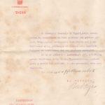 Lettere circa la morte dell'aspirante ufficiale Augusto Volpe, item 9
