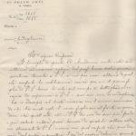 Lettere circa la morte dell'aspirante ufficiale Augusto Volpe, item 19