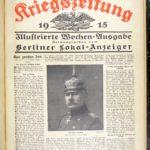 Deutsche Kriegszeitung von 1915, item 2