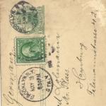 Postkarte aus USA von Walter Lohmann, item 1