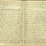 Kriegstagebuch von  Walther Huth, item 9