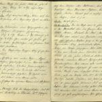 Kriegstagebuch von  Walther Huth, item 11