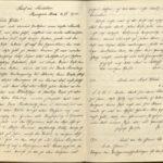 Briefe von Walther Huth an seine Eltern und Bekannte , item 105