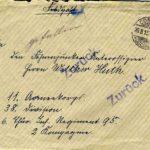 Briefe an Walther Huth von seinen Eltern, item 1