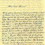 Briefe an Walther Huth von seinen Eltern, item 2