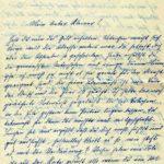 Briefe an Walther Huth von seinen Eltern, item 6