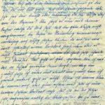 Briefe an Walther Huth von seinen Eltern, item 10