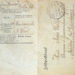 Feldpostbrief von Sebastian Wolker, item 1