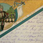 Feldpostkarten von Johann Rösch an Benigna Rösch
