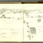 Carnet de croquis, oeuvre de Charles Grauss, item 5