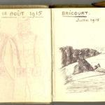 Carnet de croquis, oeuvre de Charles Grauss, item 8