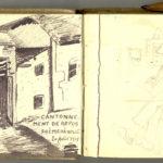 Carnet de croquis, oeuvre de Charles Grauss, item 10