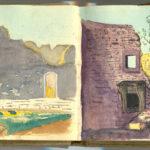Carnet de croquis, oeuvre de Charles Grauss, item 15
