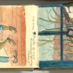 Carnet de croquis, oeuvre de Charles Grauss, item 16