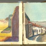 Carnet de croquis, oeuvre de Charles Grauss, item 17