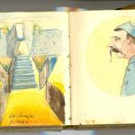 Carnet de croquis, oeuvre de Charles Grauss, item 19