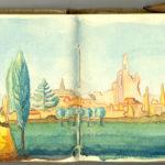 Carnet de croquis, oeuvre de Charles Grauss, item 21