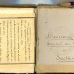 Carnet de croquis, oeuvre de Charles Grauss, item 45