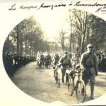 Bienvenue aux troupes françaises à Luxembourg