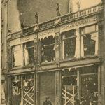 Cartes postales montrant les bombardements de Luxembourg-VIlle, item 3
