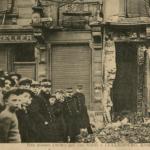 Cartes postales montrant les bombardements de Luxembourg-VIlle