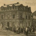 Cartes postales montrant les bombardements de Luxembourg-VIlle, item 6