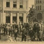 Cartes postales montrant les bombardements de Luxembourg-VIlle, item 7