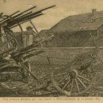 Cartes postales montrant les bombardements de Luxembourg-VIlle, item 8