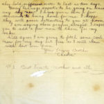 Letters written by Charles Patrick Flanagan, Royal Flying Corps, item 2