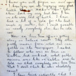 Letters written by Charles Patrick Flanagan, Royal Flying Corps, item 3