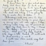 Letters written by Charles Patrick Flanagan, Royal Flying Corps, item 4